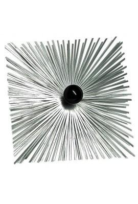 Hérisson carré en acier