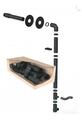 Kit de raccordement poêle à granule